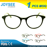 Free Sample Manufacturing Fancy Faconnable French Designer Round Latest Model Spectacle Optical China Wholesale Glasses