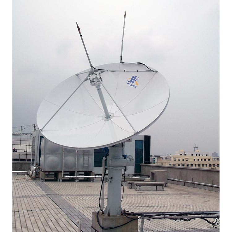 Factory Price 3.0m Parabolic RxTx Motorized VSAT Satellite Dish Antenna