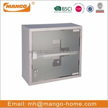 Wall Mounted Stainless Steel pharmacy medicine cabinet