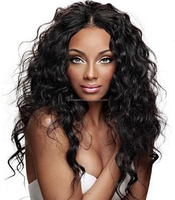 Free shipping Unprocessed Brazilian Human Hair Lace Front Wigs Fashion Curly Front Lace Wig With Natural Hairline