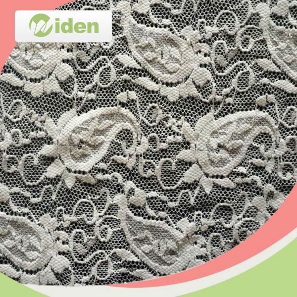 Hot products to sell online nylon and spandex composition elastic lycra lace fabric