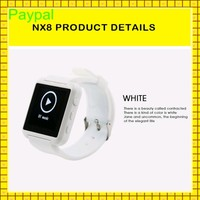 Low Cost Customs LOGO touch screen watch mobile phone