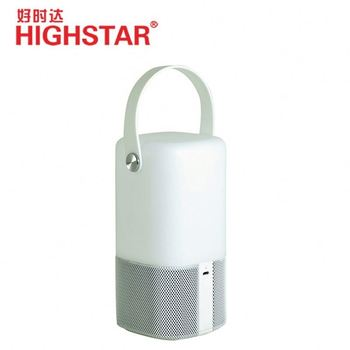 Rechargeable BT speaker, good sound quality music speaker with dimmable night light