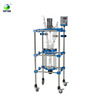 Pilot Plant Glass Extraction Reactor With 50l,100l,200l Double Layer Jacketed Agitated Chemical Reactor