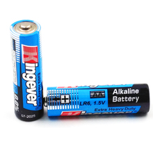 Mercury Free LR06 AM3 1.5v AA Non Rechargeable Alkaline Battery