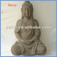 New Design Home Decoration Sitting Large Buddha Statue