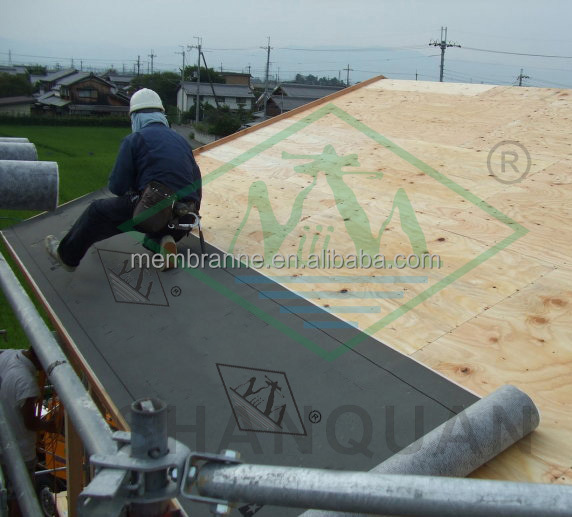 Waterproof Breathable Synthetic Roofing Underlayment