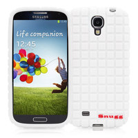 Snugg case for Samsung Galaxy S4 Squared Skinny Fit Protective Cover in White