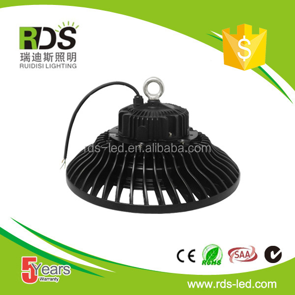 Latest design ufo 150w dimmable led high bay for warehoues