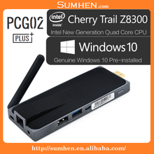 Pink Lizard MeLE PCG02 plus+ Mini PC Windows10 Intel Quad Core Atom Z8300 2G/32G