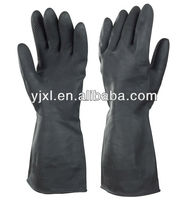 Black Light-industrial latex gloves