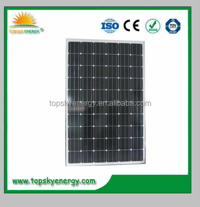 255W - 280W Mono solar cell 60 cells solar panel for home system