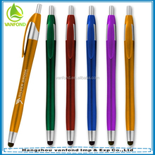 New stationery product 2016 plastic touch pen for smartphone