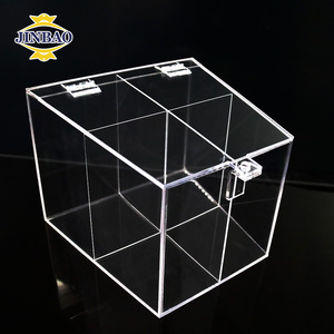 JINBAO economic acrylic box for candies in sweet shops