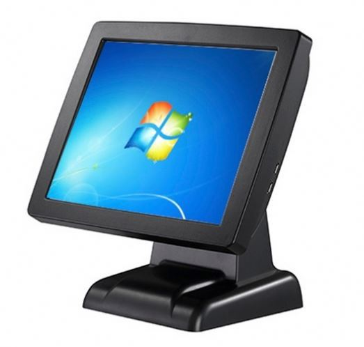 payment terminal/pos terminal for pos system/pos terminal pos system epos with 15inch 5 wires resistive touch screen