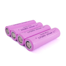 3.7v 2600mah Lithium Rechargeable 18650 Li ion <strong>Battery</strong> Factory