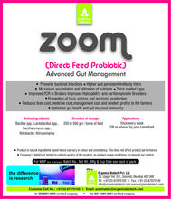 Zoom - animal feed probiotics