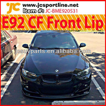 For BMW E92 M-Tech Carbon Front Lip HM Style Lip Spoiler