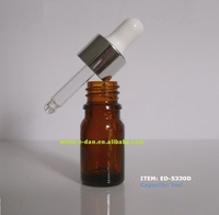 5ml glass dropper bottle