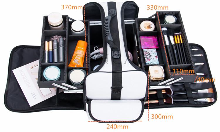 Mesh Makeup Bag Travel Cosmetic Bag