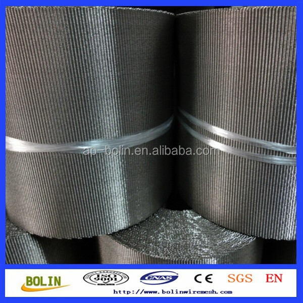 Stainless steel woven mesh strip/stainless steel mesh band
