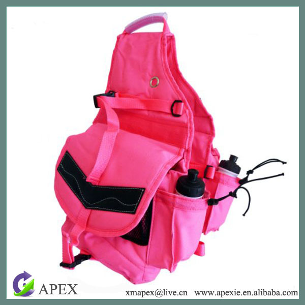 high quality 600D polyester customizable hard saddlebags
