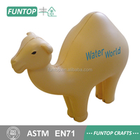 Hot sale popular camel stress ball for children