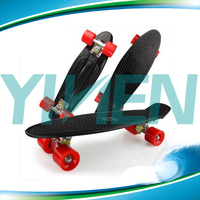 new plastic fish skateboard for cheap sale,with 4 wheels complete board cruiser