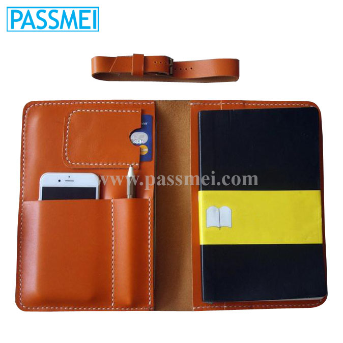 Genuine Leather for notebooks Cover travel case