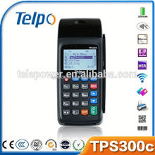 Telepower TPS300C Handheld POS equipment with Loyalty card solution