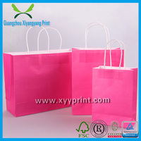 Custom kraft paper valve bag, a3 paper bag, paper dust bag wholesale