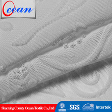 Ocean textile China manu factory polyester mesh embosed knitting fabric