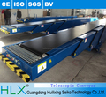 Flexible Lifting Loading Unloading Telescopic Conveyor Belt Type