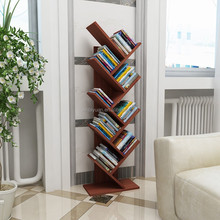 Bookshelf shelves hold books wooden