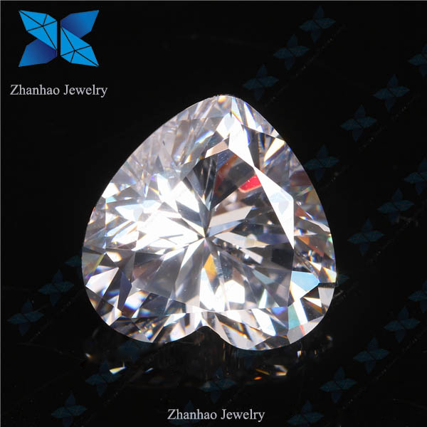 heart shape wholesale china 1.0ct D color 6.5mm forever brilliant cut White Moissanite Diamond