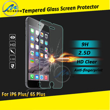Wholesale price for iphone 6 plus tempered glass screen protector, for iphone 6s plus tempered glass screen protector