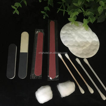 Hotel Vanity Kit With Organic Cotton Pad And Cosmetic Cotton Bud