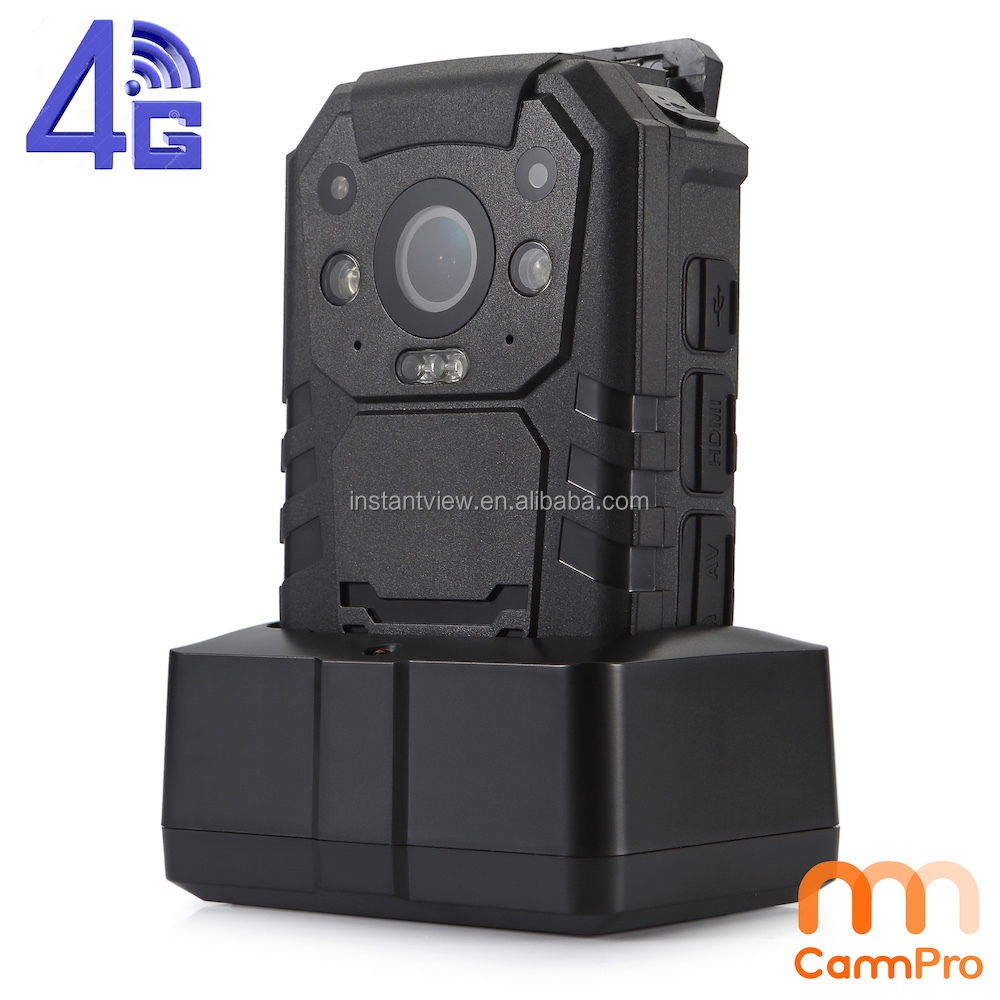 Android mobilephone and Computer remote control watch 3G 4G WIFI GPS police body worn video camera