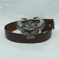 new products customized bull head belt buckle manufactures