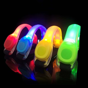 Colorful LED reflective arm band for safety night running