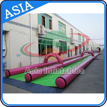 Summer Fun Water Slide City / Giant Inflatable Water Slide For Big Party On Street