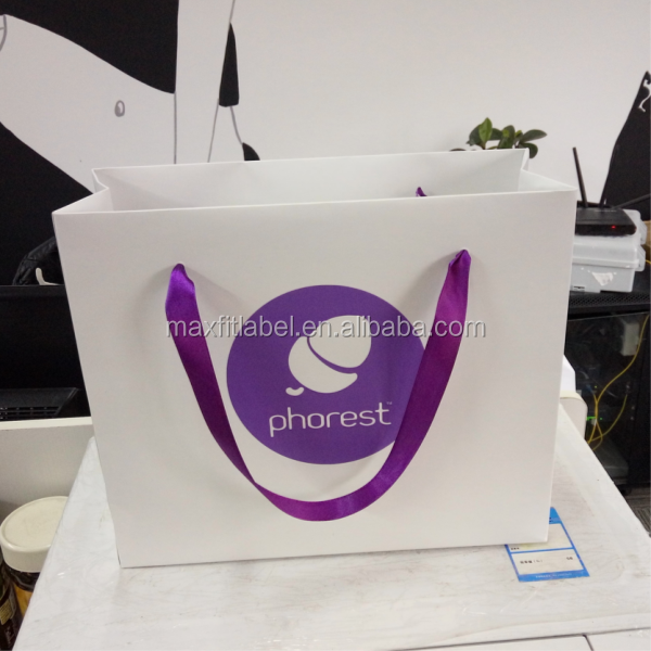 China cheap design smart shopping paper bag custom made paper bags