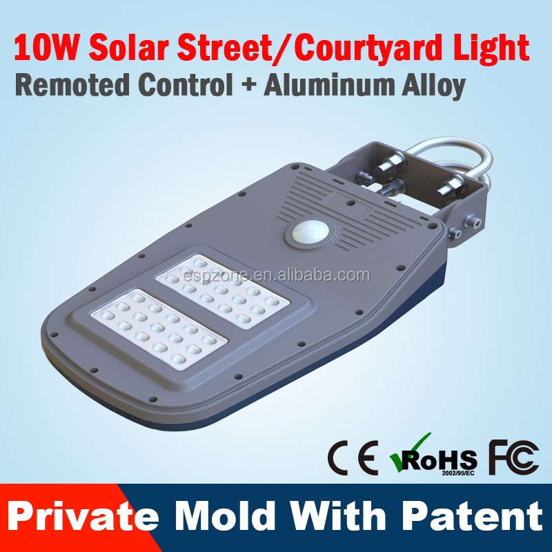 Hot Innovative Outdoor 5W Street Solar Lighting System Garden Lights