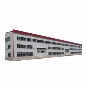 Light steel building prefabricated steel structure frame warehouse