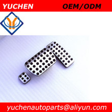 YUCHEN AT/ MT Aluminum alloy Car Pedal Foot Rest Pedals Plate Cover For Mercedes Benz Vito