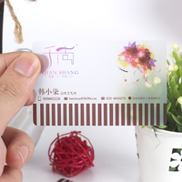 2016 high quality transparent plastic pvc business card/pvc business card printing /pvc card