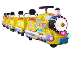 indoor shopping mall mini electric trackless train for sale