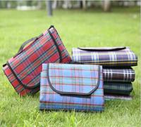 Outdoor portable folding widen moistureproof blanket camping beach picnic mat