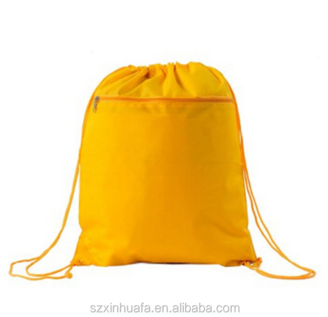 Cheap New Waterproof small Nylon Drawstring Bags Custom Wholesale Drawstring Backpack