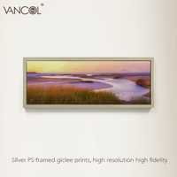 Decorative seascape oil painting canvas high quality handmade scenery painting for sale